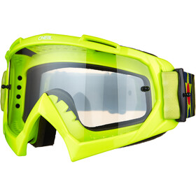 O'Neal B-10 Goggles, warhawk neon yellow/black-clear